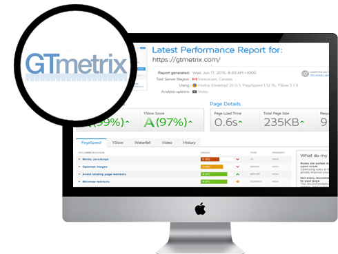 Slow website? GT-Metrix Performance Tool. Test your site today and gain insights into critical areas for improvement.