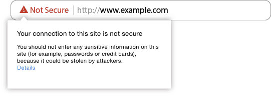 Website Not Secure