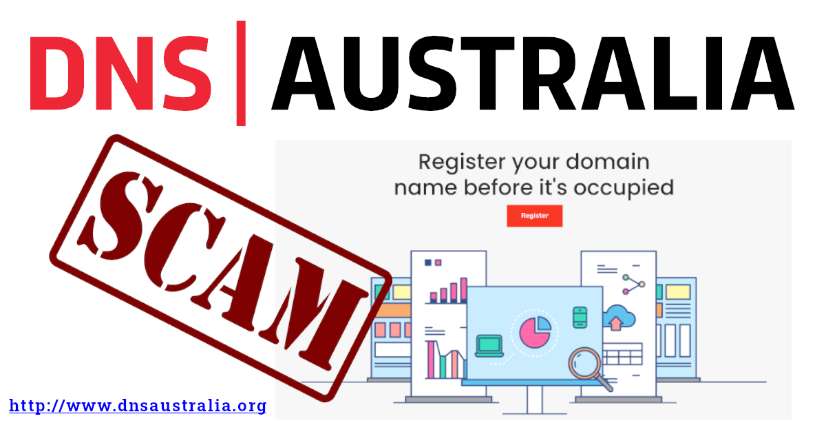 DNS Australia SCAM! Received an email from dnsaustralia.org stating that your domain name has been claimed? Don't fall for it, it's just another domain name SCAM!