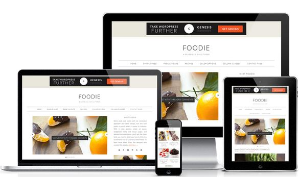 WordPress Web Development. Sleek and svelte with her minimalist approach and clean design, Foodie Pro ships with a minimalist style and plenty of color and typography options.